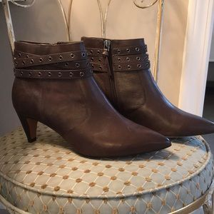 G.I.L.I Brown Ankle Boots - Size 7